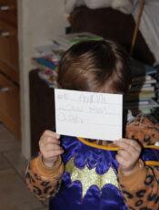 Projet lettre à papy/mamie
